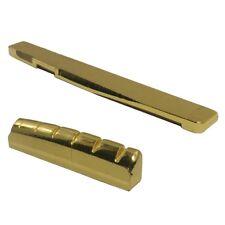 Dado e ponte per chitarra acustica in ottone a 6 corde O3P9