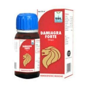 SBL Damiagra Forte 30 ml Drops fast free shipping from india
