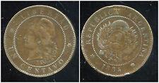 ARGENTINE 1 centavo  1884  ( bis )