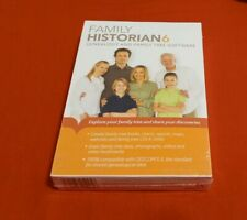 Brand New Family Historian 6 Genealogy and Family Tree Software