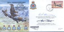 CC24e RAF lyneham LOCKHEED HERCULES C-130 Copertina firmata