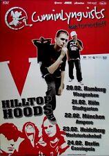CUNNINLYNGUISTS - 2008 - Tourplakat - Hilltop Hoods - Strange Journey - Tourpost