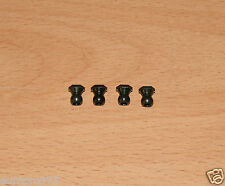 Tamiya 9804206/19804206 5mm Ball Connector Nut (4 Pcs.) (DB01/XV-01/TA06/TB04)