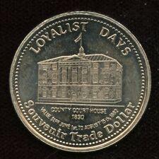 1982 Saint John, New Brunswick Trade Dollar Token Canada Coin Loyalist Days