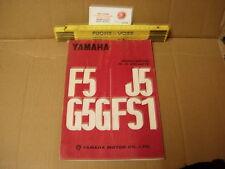 Yamaha f5 j5 g5 fs1'72 Service Manual inglés