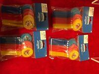 4 Skylanders Glow-In-The-Dark Disc Shooters 8 PCS Birthday Party Favor Supplies
