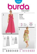BURDA Gabarits de couture femmes robe de maternité Size 10 - 22 7630