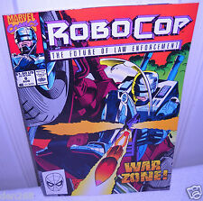 #8499 Marvel Comics Robocop Vol 1 No 6 August 1990
