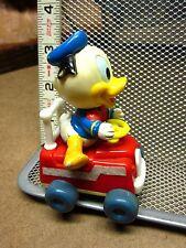 DONALD DUCK nephew Dewey vtg beat-up wind-up toy Disney 1984 Arco