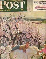 1950 Saturday Evening Post May 6 - Wenatchee WA apples