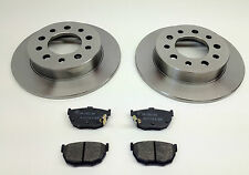 Fits HYUNDAI COUPE 01-09 REAR BRAKE DISCS & PADS 1.6 2.0 2.7