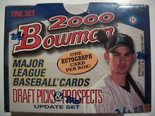 2000 BOWMAN DRAFT PICKS AND PROSPECTS 110 CARD SET   !!