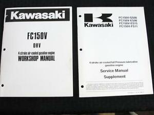 ORIGINAL KAWASAKI FC150V 4-STROKE AIR-COOLED GASOLINE ENGINES SERVICE MANUAL