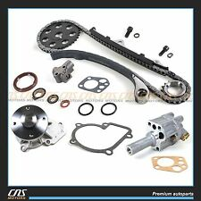 Timing Chain Kit Oil & Water Pump for 1989-97 Nissan 2.4L 240SX D21 Pickup KA24E