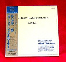 Emerson Lake & Palmer Works Volume 2 JAPAN SHM MINI LP CD VICP-64571