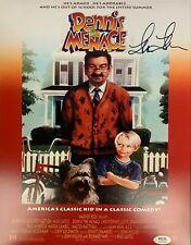 Lea Thompson autographed signed 11x14 Dennis The Menace PSA COA Alice Mitchell