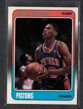 1988 Fleer Basketball #43 Dennis Rodman ROOKIE Detroit Pistons