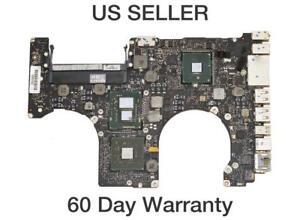 """Apple Macbook Pro 15"""" A1286 Mid 2010 Logic Board w/ i7-620M 2.66Ghz CPU 661-5480"""