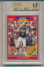 1989 Pro Set Football Announcers Joe Namath (HOF) (25) (Subs 3-9.5's/1-9) BGS9.5
