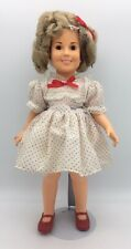 Vintage Ideal Shirley Temple Doll 1972 Red Polka Dot Dress Stand Up Cheer 17""