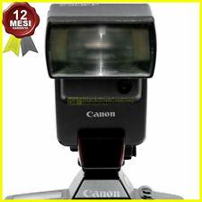 Flash Canon Speedlite 430 EZ TTL per fotocamere a pellicola. Manuale su digitali