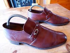 mens CHEANEY loafers - size uk 7 fair/good condition
