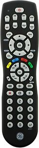 GE 8-Device Universal IR Remote Control for TV DVD Blu-Ray Player Amplifier Blac