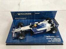 F1 1/43 WILLIAMS FW23 BMW R. SCHUMACHER KEEP YOUR DISTANCE 2001 MINICHAMPS