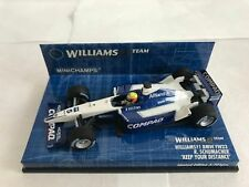 "Williams Fw23 Schumacher ""keep Your Dis."" Minichamps 400010125 Miniature"