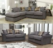Fabric Living Room Modern Furniture Suites