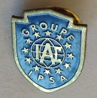 IAC Groupe IPSA Pin Badge Rare Advertising Collectable (E4)