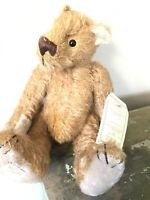 "12"" NWT LTD ED /1000 DEANS RAG BOOK Co.  ""J.C.B"" Jointed Mohair  Bear  collector"