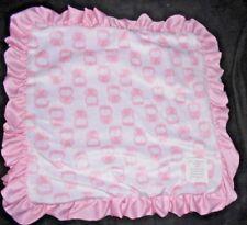 Carters Child of Mine Little Blanket of Mine Security Lovey Pink Owl Minky Dot