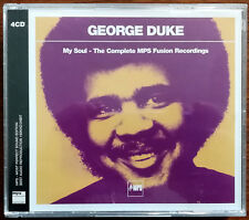 George Duke – My Soul - The Complete MPS Fusion Recordings 4 x CD – Mint