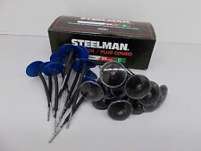NEW STEELMAN JSG381 1/8-Inch Tire Repair Patch/Plug Combo, Box of 25 New