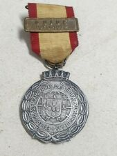 """Portugal Militar Silver Medal decoration of """"Special Service Commissions"""" 1970"""