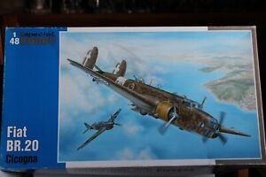 1/48   WWII - Fiat BR.20 -Cicogna - from Special Hobby