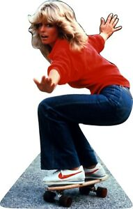 "Farrah Fawcett - Skateboard  62"" Tall Cardboard Cutout Standee"