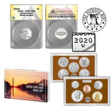 2020 W Jefferson Nickel 5C PR69 1st West Point Nickel (includes 2020 Proof Set)