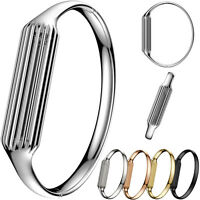 Luxury Outdoor Metal Bracelet Bangle Band For Fitbit Flex 2 Tracker Watch NEW