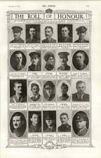 1918 Major Ss Burnham Lt Col Jn Marshall Lt Kibby