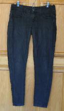 bebe Ladies Size 27 (W32 L28) Low Rise Skinny Black Jeans