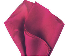 100 Sheets Cranberry Gift Wrap Pom Pom Tissue Paper 15x20