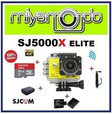 SJCAM SJ5000X WiFi Action (Yellow) + Monopod + Sandisk 16GB + Batt+Charger + Bag