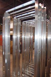 Eliason Reinforced Stainless Steel Door Frame 6-0x7-0x8-1/4 Cased Open No Stop