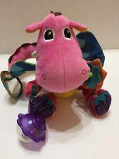 """Lamaze Plush Sensory Learning Toy BabyToddler Dinosaur Colorful 10""""T"""