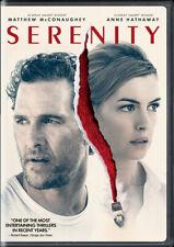 Serenity (Dvd, 2019 107 Min ) Matthew McConaughey , Ann Hathaway .
