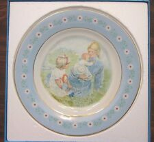Avon Tenderness Commemorative Collector Plate In Box 1974 Representative Gift