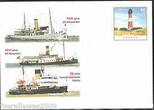 Deutschland Ganzsache Museumsschiffe 2008  Portogerechter Versand + Tagesstempel