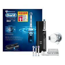 Oral-B Genius 9000N Elektrische Zahnbürste Schwarz mit Etui,4 Aufsteckbürste NEU